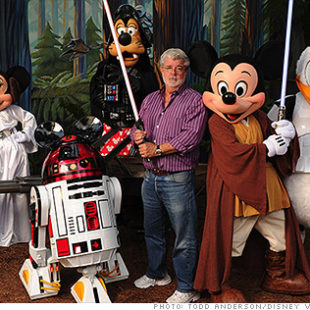 La Disney che compra Star Wars…