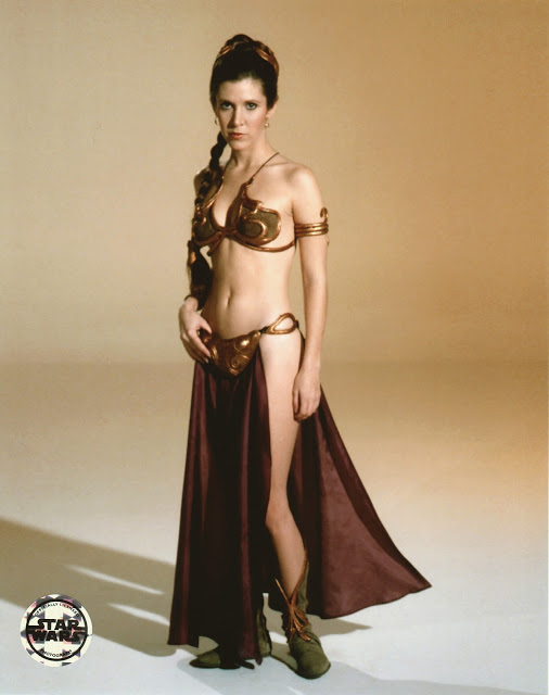 Slave Leia Carrie Fisher