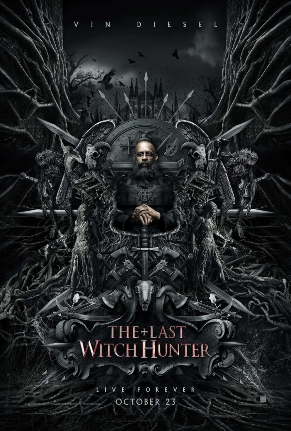 The Last Witch Hunter locandina poster