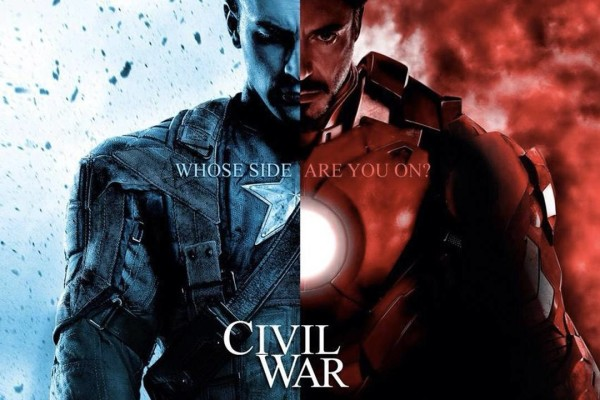 Captain America Civil War Iron Man 2016