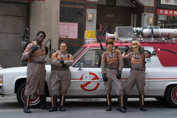 Ghostbusters Who you gonna call 2016