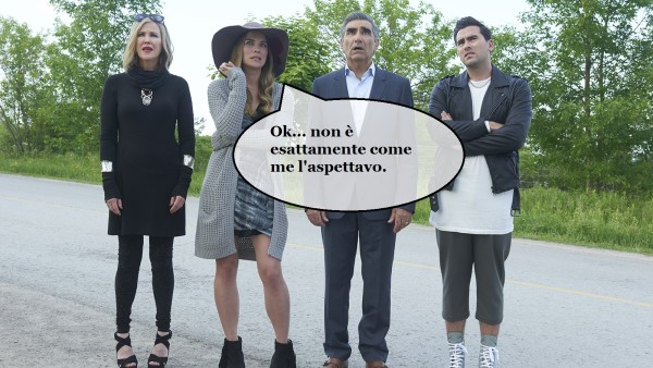 Schitt's Creek novità tv 2016