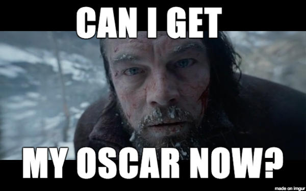 Di Caprio Oscar The Revenant