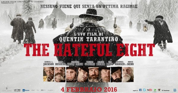 The Hateful Eight gli otto carichi di odio