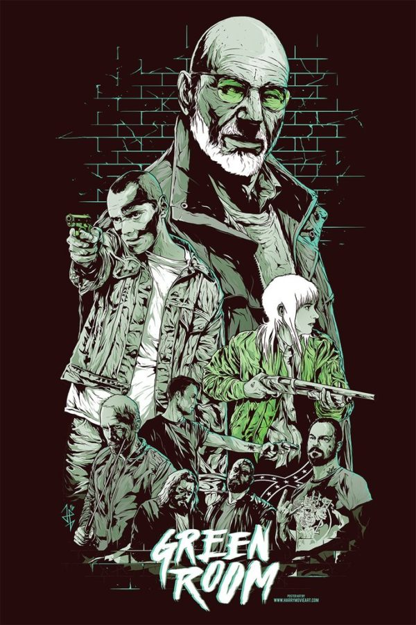 Green Room poster alternativo
