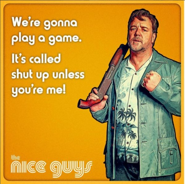 The Nice Guys Russell Crowe