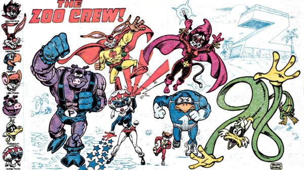 Captain Carrot and his amazing zoo crew