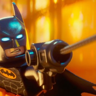 Holy bricks! The LEGO Batman!