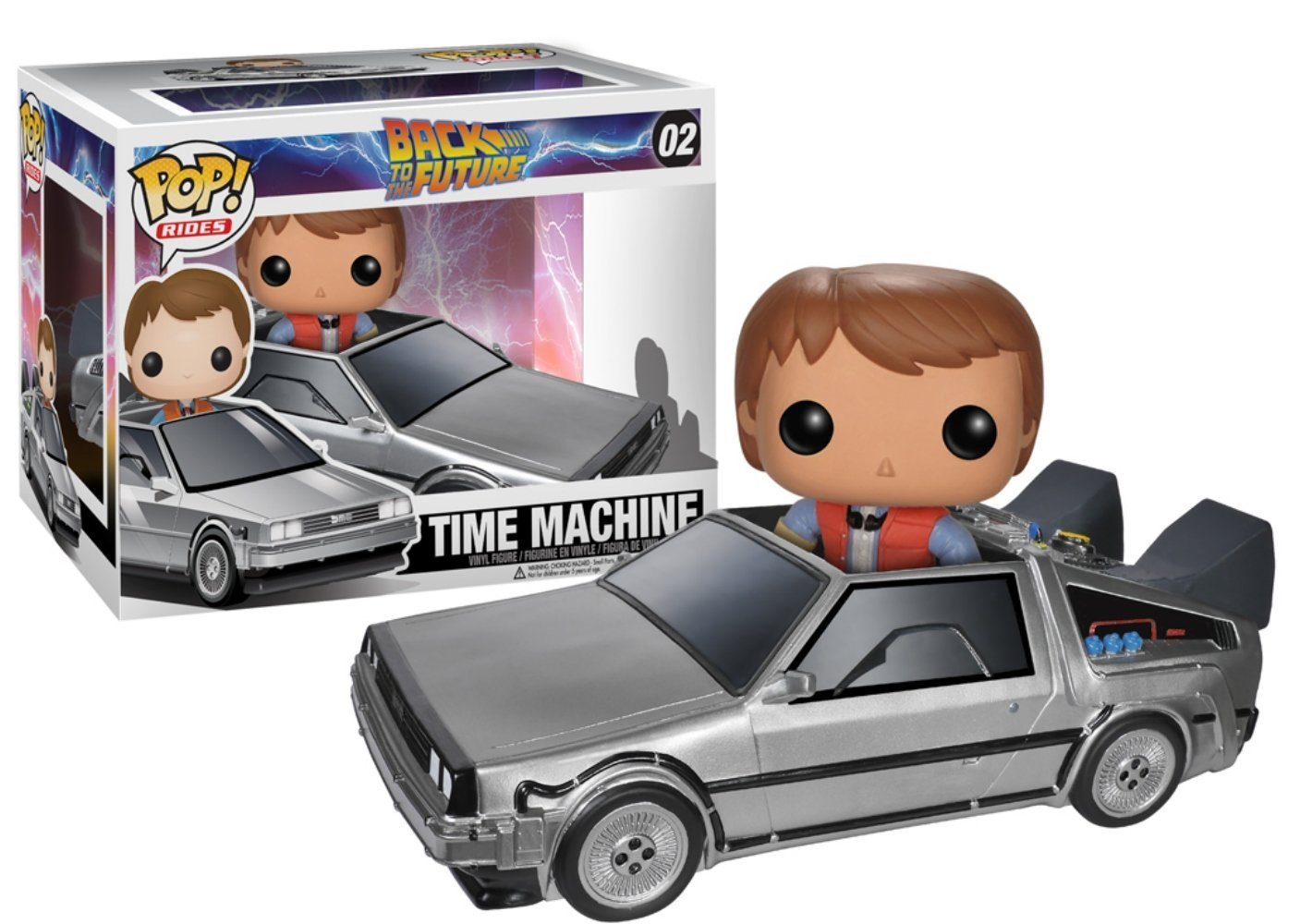 Delorean funko pop